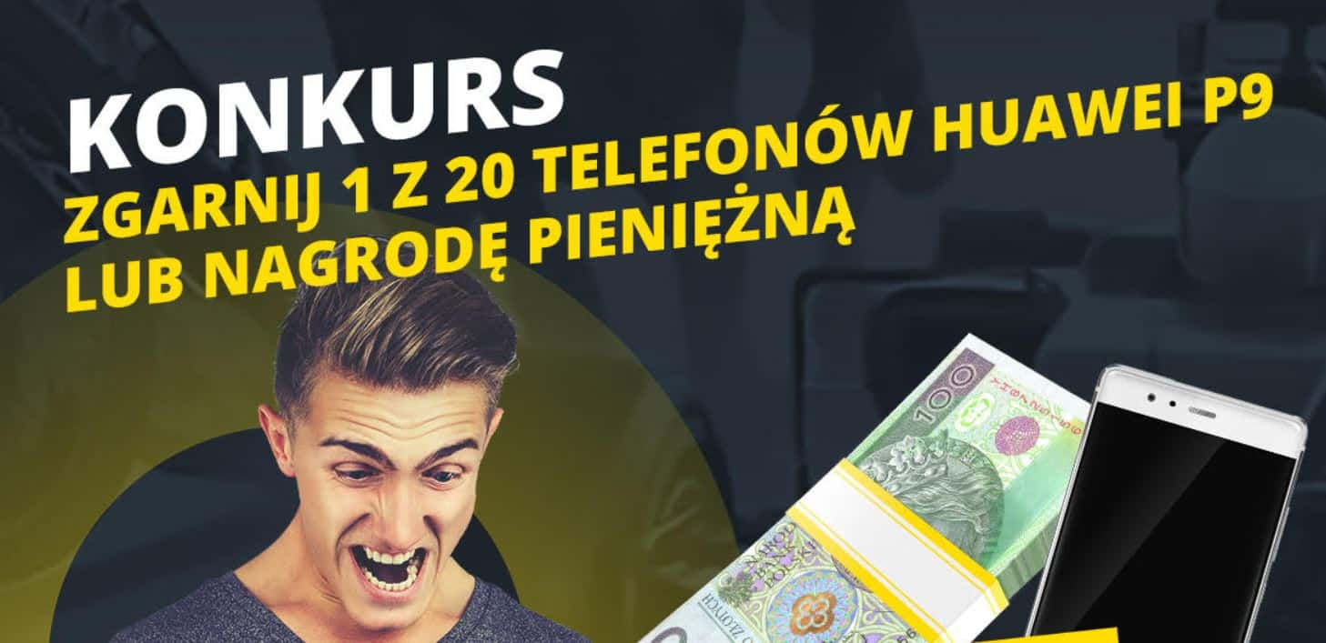 Konkurs mobilny Fortuna. Wygraj smartfon lub 300 PLN!