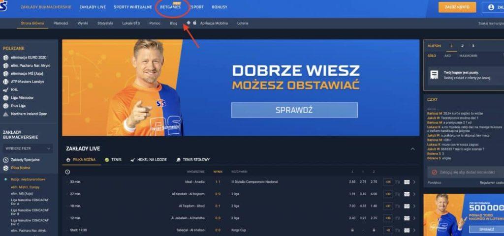 Legalny poker w Polsce STS - krok 1