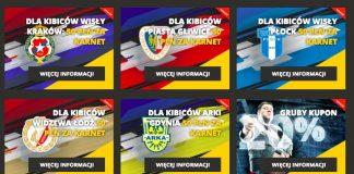 50 PLN premii za karnet na mecze!
