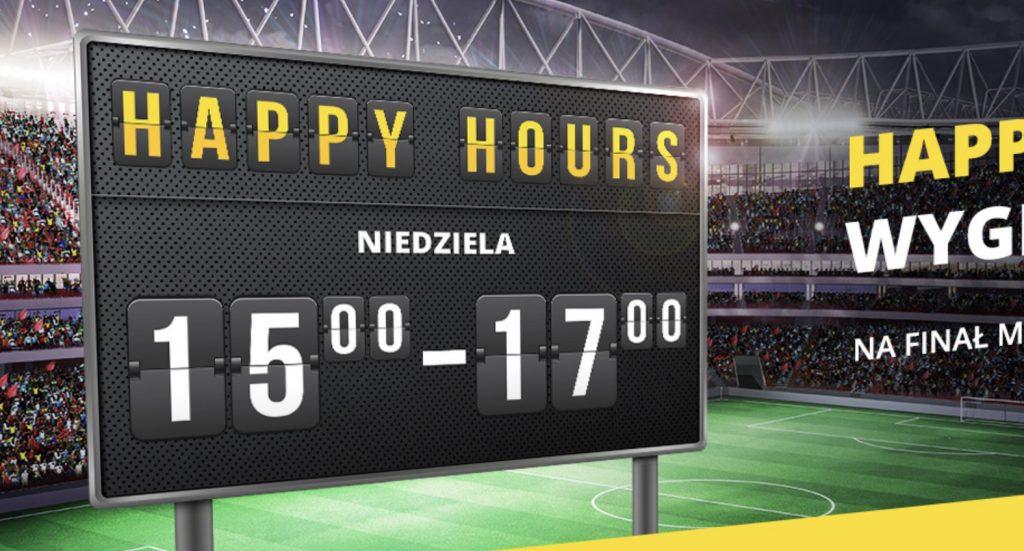 Niedziela z bonusem od wygranych. Fortuna Happy Hours 2019!