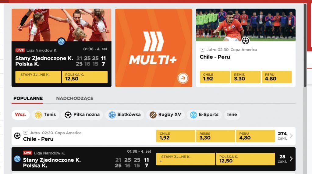 BetClic polska bonus na start