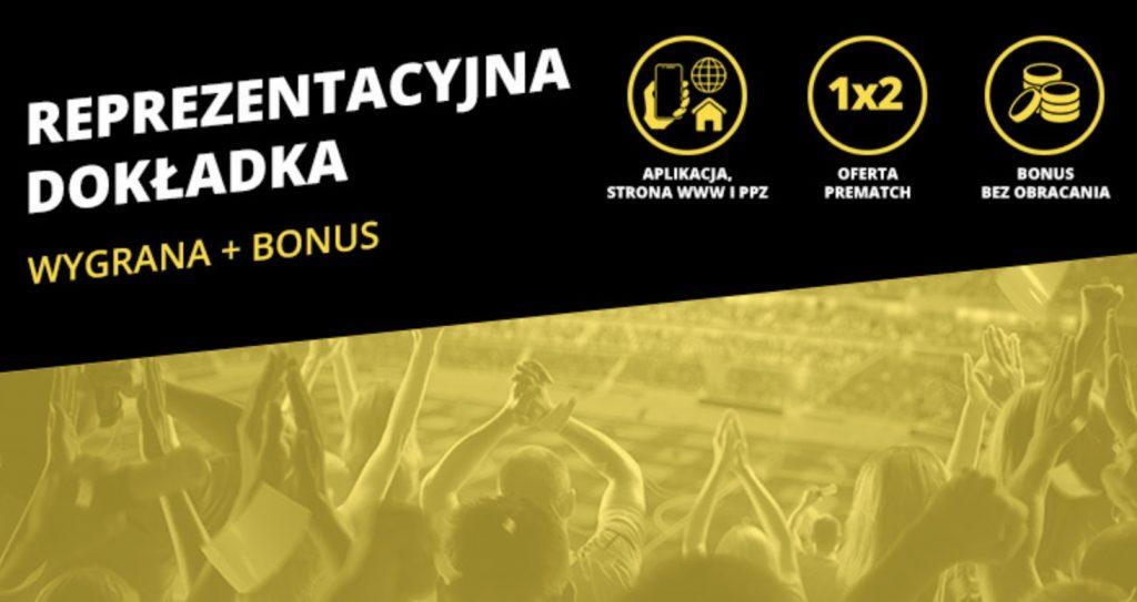 Słowenia - Polska z bonusem 20 PLN ekstra od Fortuny!