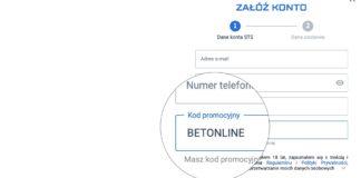 STS bonus bez depozytu 2020. Aktualny kod promocyjny - BETONLINE