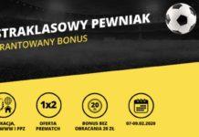 Fortuna ma 20 PLN bonusu dla graczy. Oto Ekstraklasowy Pewniak!