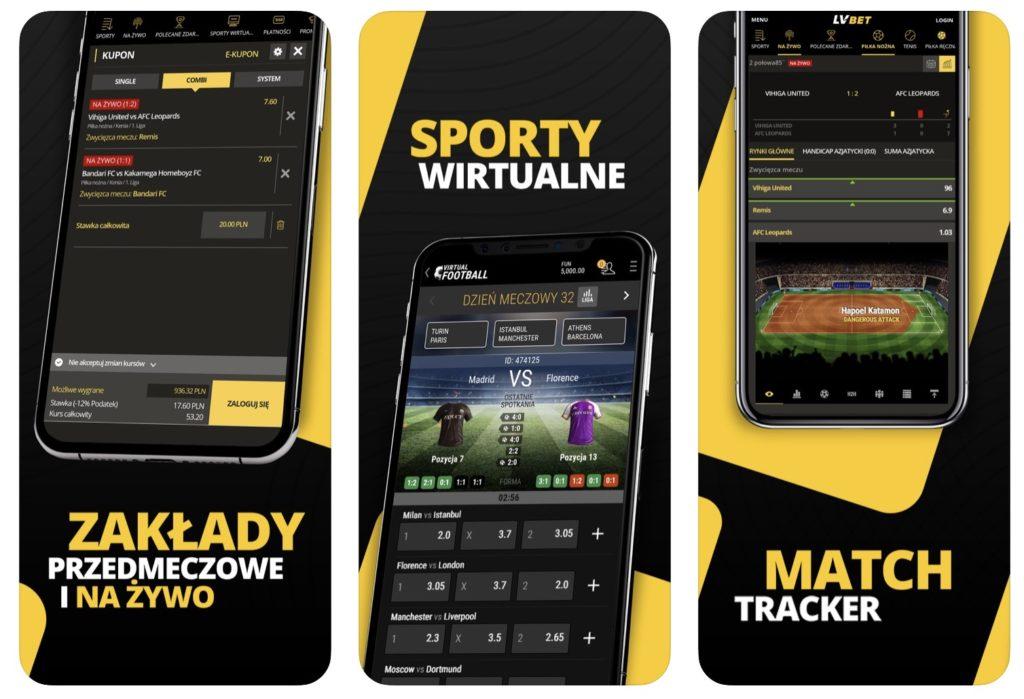 LV BET aplikacja mobilna iOS AppStore